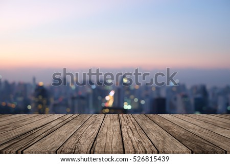 Wood Table Perspective