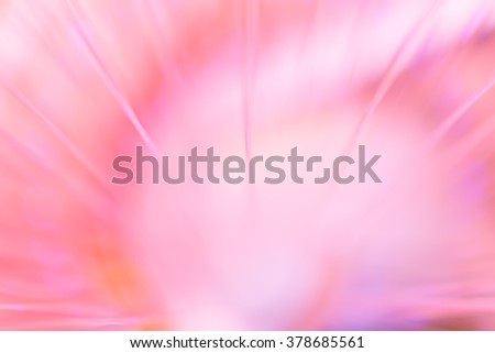 Blurred fiber and plastic optic for background
