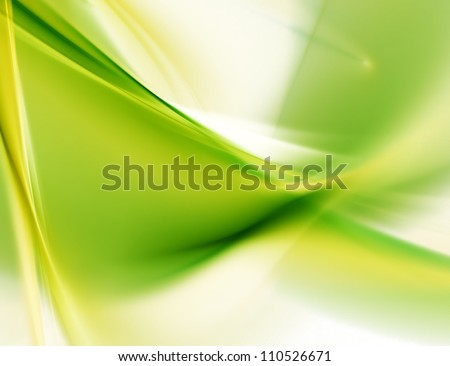 blurred green background - stock photo
