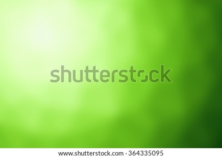 Blurred green background, Blur color abstraction for pattern, texture, wallpaper or banner design