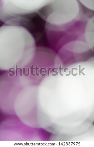 Blurred lights pink bokeh abstract light background - stock photo