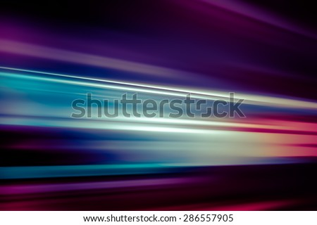 BLURRED MOTION BACKGROUND - stock photo