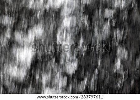 Blurred moving water background.