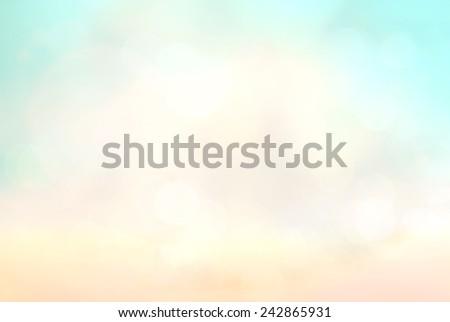 Blurred nature background. - stock photo