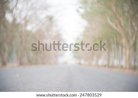 Blurred nature background - stock photo