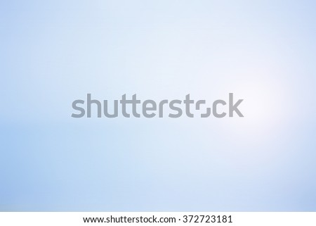 Blurred nature sky. shine white - stock photo