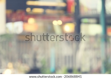 Blurred of city - stock photo