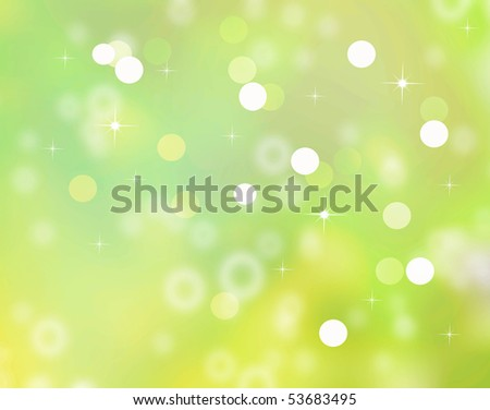 Blurred Particle background