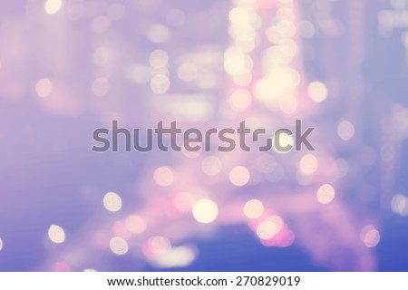 Blurred purple and blue urban highway background scene  - stock photo