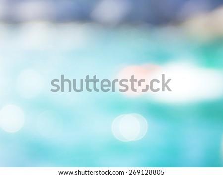 Blurred sea water. - stock photo