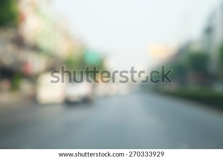 blurred street background for your design - stock photo