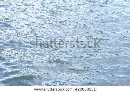 Blurred water surface , effect. - stock photo