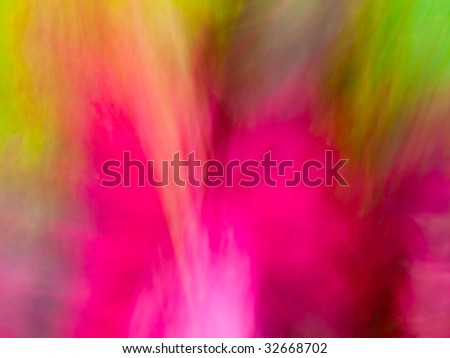 Blurry Colorful Tropical Floral background