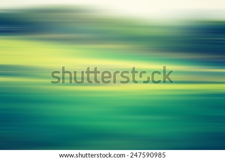 blurry field landscape with vintage mood - stock photo