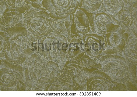 Blurry flower design with a tinge of metallic in two tone monochrome background / Floral abstract background / Great for murals, wallpaper or text background - stock photo