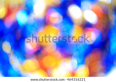 Blurry focus lighting color effects defocused backgrounds