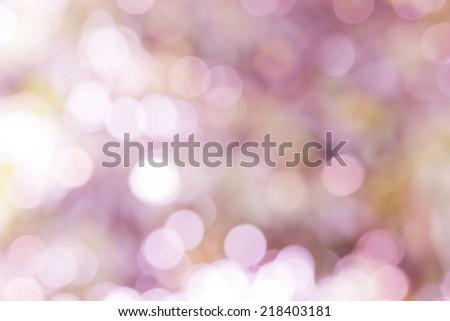 blurry light of bokeh background - stock photo