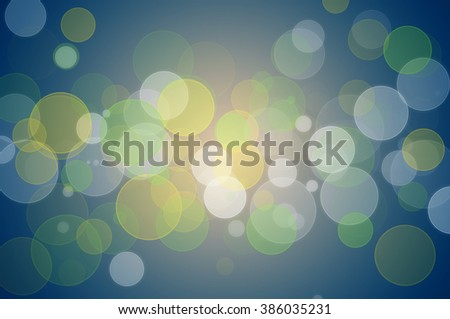 Blurry spot lights with colorful background. - stock photo