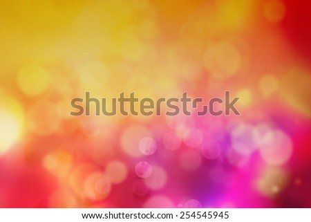 Blurry vivid multicolor Defocused abstract light bokeh - stock photo