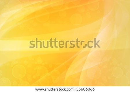 Blurs on abstract yellow tone background - stock photo