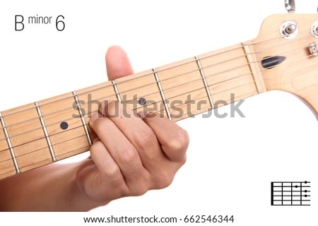 Bm 6 Advanced Guitar Keys Series Closeup Stock Photo (Safe to Use ...