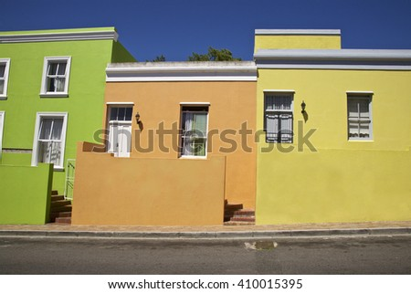 Bo Kaap in Cape Town, Western Cape Province, South Africa