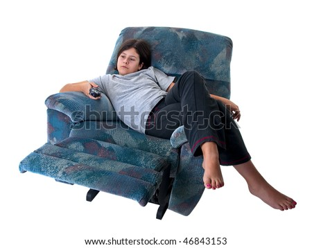 Obese Couch Potato Couch Potato Stock Ima...