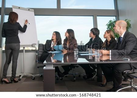 Board room - stock photo