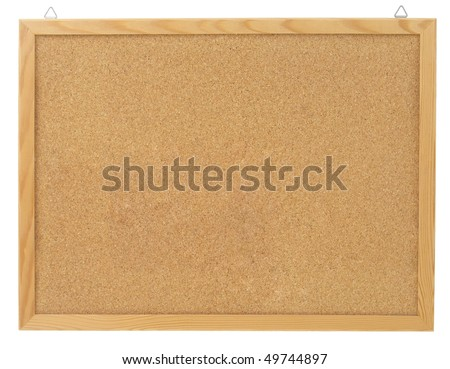 board with clipping paths - stock photo