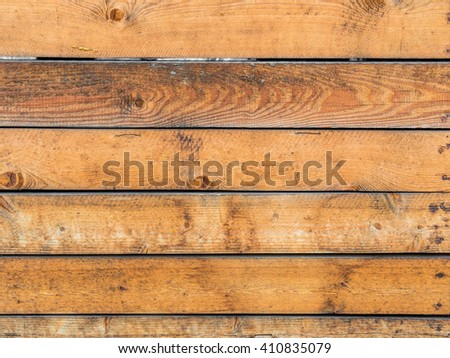 boards wooden wall. background for posters and announcements