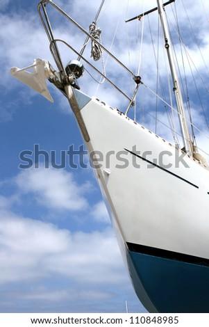Boat at Portopetro, Mallorca - stock photo