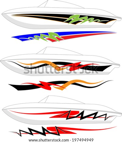 boat graphics stripe vinyl ready boat graphics designs ideas - Boat Graphics Designs Ideas