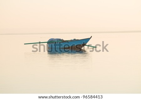 Boat in Water - stock photo