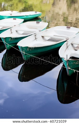 Boat on the water - stock photo
