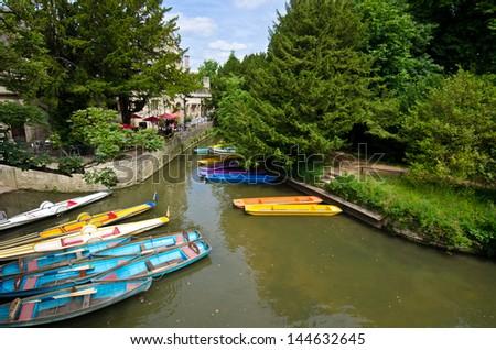 Boat Oxford - stock photo