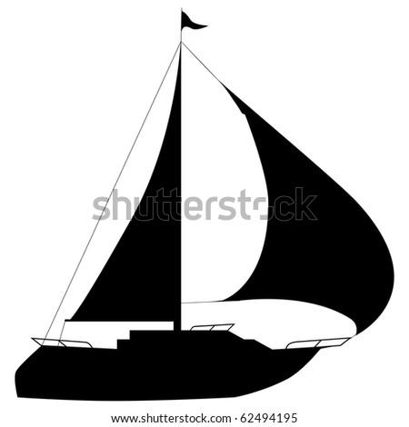 Boat-Yacht - stock photo