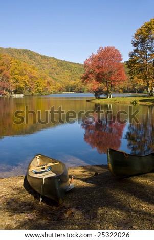 Boats on coast - stock photo