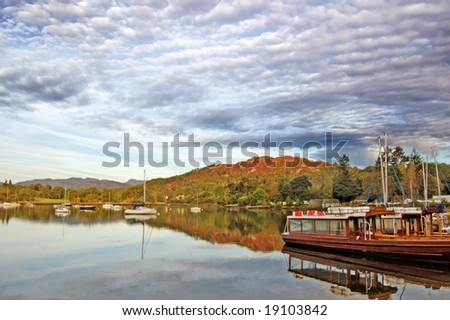 boats on the scottish lake