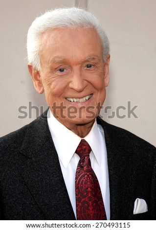 Bob Barker attends the Academy of Television Arts & Sciences presentation: An Evening with Bob Barker held at the Leonard H. Goldenson Theatre in North Hollywood, California, on May 7, 2007.