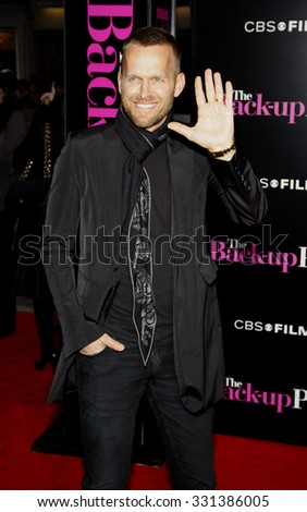 """Bob Harper at the Los Angeles premiere of """"The Back-Up Plan"""" held at the Westwood Village Theater in Hollywood, USA on April 21, 2010. - stock photo"""