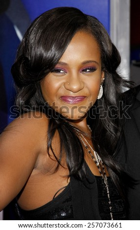 "Bobbi Kristina Brown at the Los Angeles premiere of ""Sparkle"" held at the Grauman's Chinese Theatre in Los Angeles, United States on August 16, 2012."