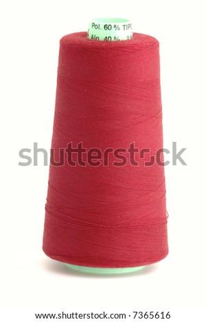 Bobbin of thread - stock photo