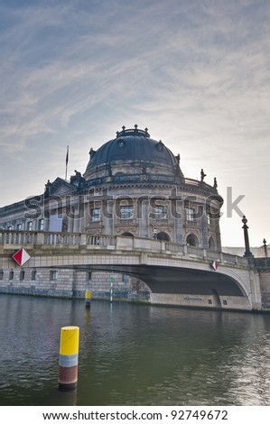 Bode Museum located on Museum Island, a UNESCO-designated World Heritage Site on Berlin, Germany