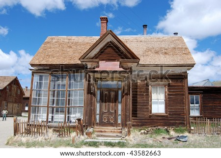 Bodie, California - ghost town -store - stock photo
