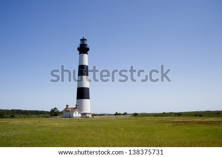 Bodie Island Lighthouse in the NC Outer Banks