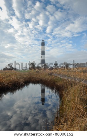 Bodie Island Lighthouse Reflections