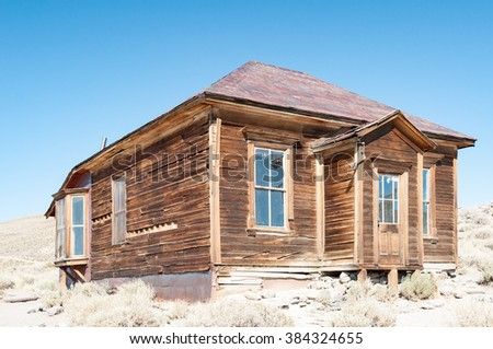 Bodie State Historic Park,  ghost town in the Bodie Hills, Mono County, California, United States.