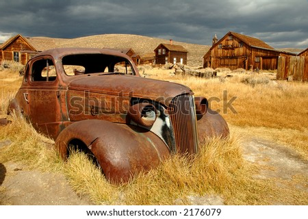 Bodie State Park - stock photo