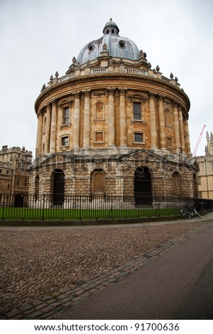 Bodleian Library, Oxford. - stock photo