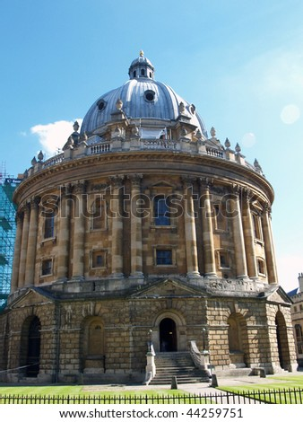 Bodleian Library Oxford - Radcliffe Camera - stock photo